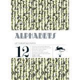 Livre de Papier Cadeau 25x34,5cm 41 Alphabets - Pepin