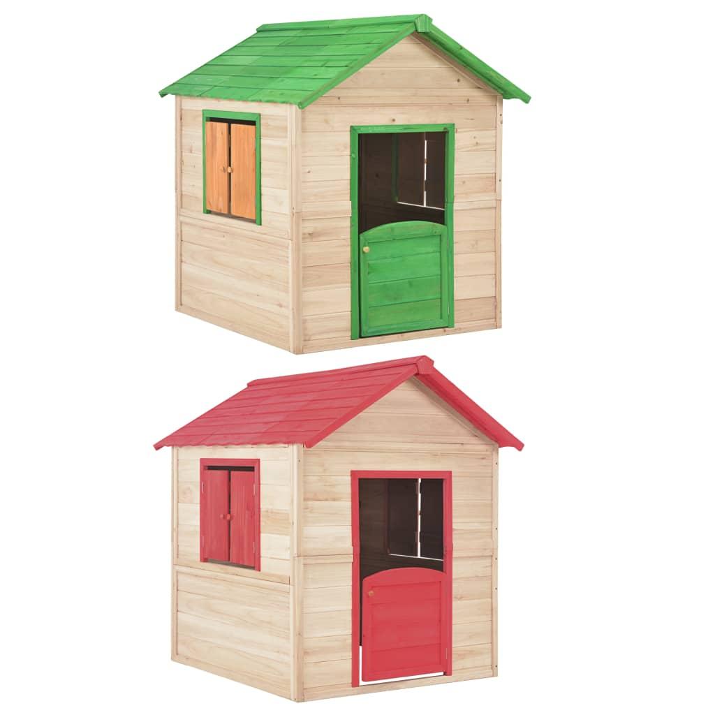 Maison Pour Enfant Exterieur vidaxl bois maison de jeu pour enfants jouet jardin extérieur garçon fille