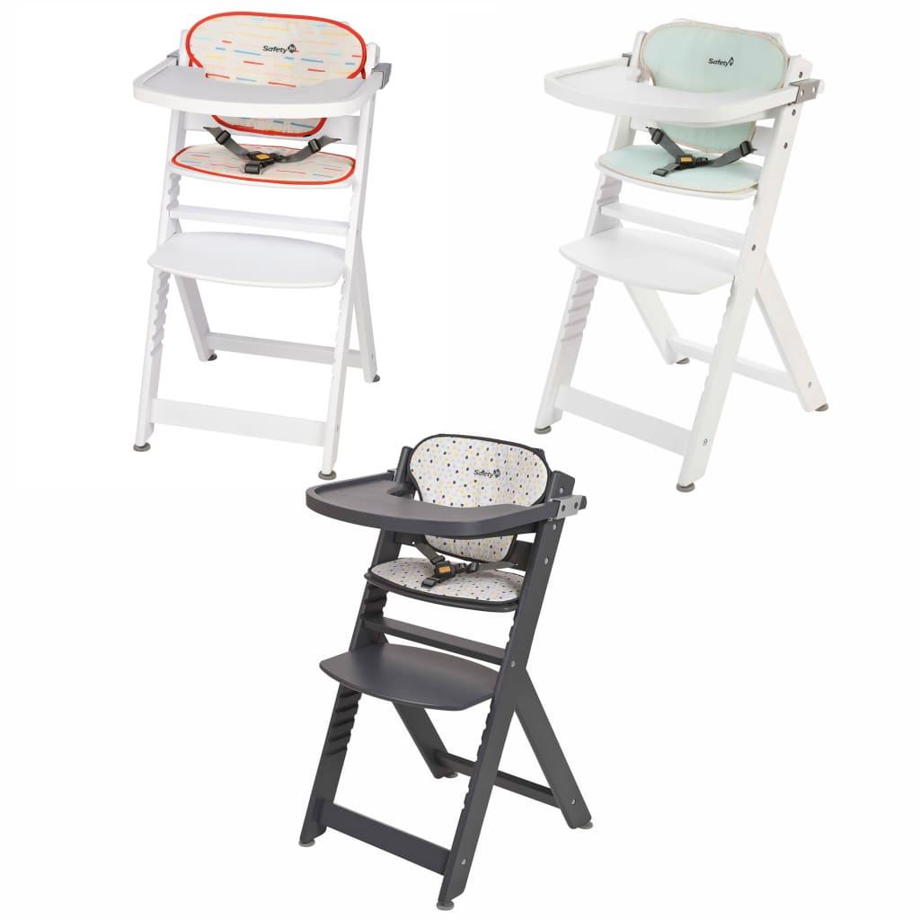 Détails sur Safety 7st Chaise Haute avec Coussins Salle à Mange Enfant  Maison Multicolore