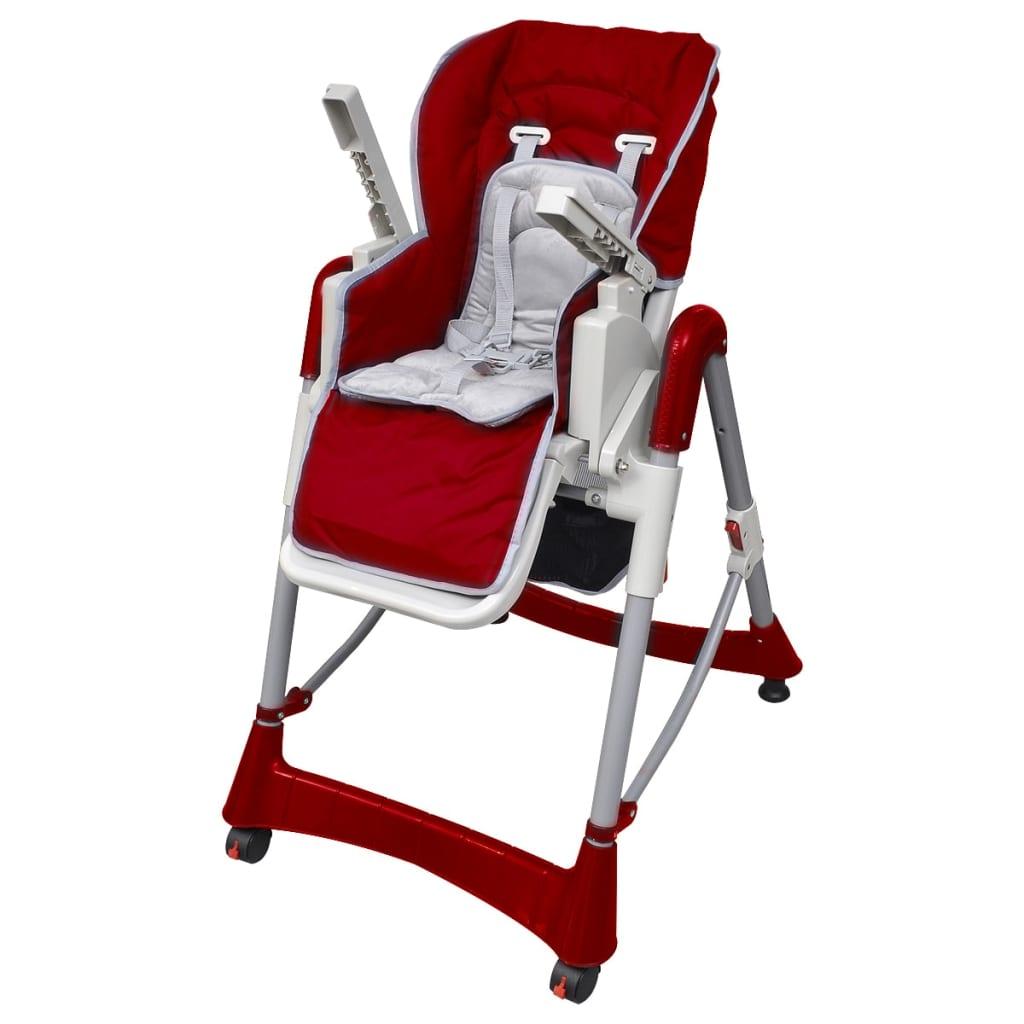 la boutique en ligne chaise haute deluxe et r hausseur b b couleur rouge bordeaux. Black Bedroom Furniture Sets. Home Design Ideas