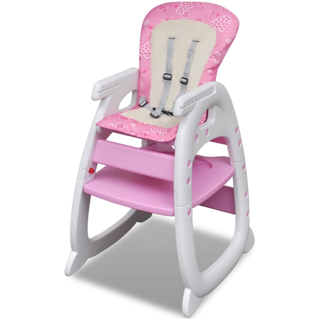 pinker umwandelbarer 3 in 1 baby hochstuhl g nstig kaufen. Black Bedroom Furniture Sets. Home Design Ideas