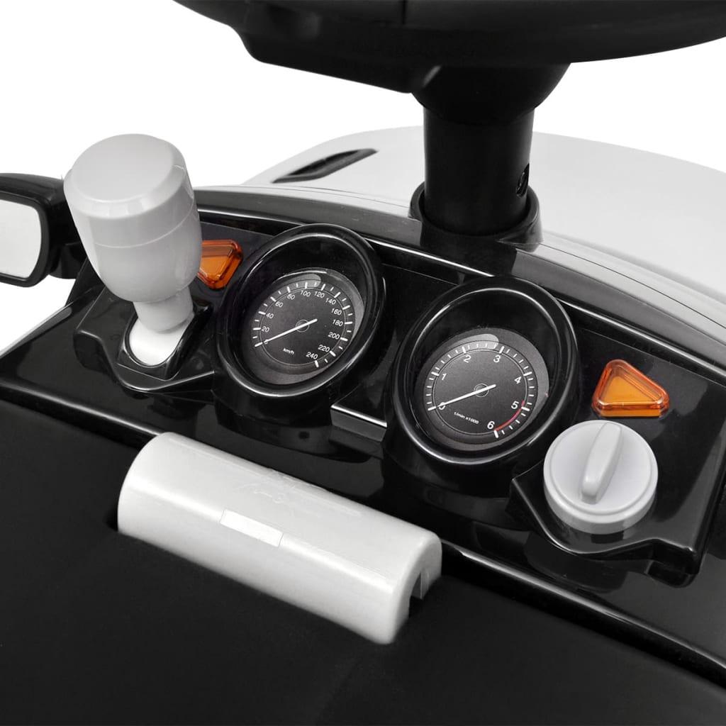 la boutique en ligne voiture pousser blanche avec musique pour enfant land rover 348. Black Bedroom Furniture Sets. Home Design Ideas