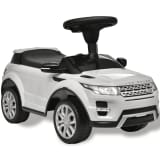 Voiture à pousser blanche avec musique pour enfant Land Rover 348