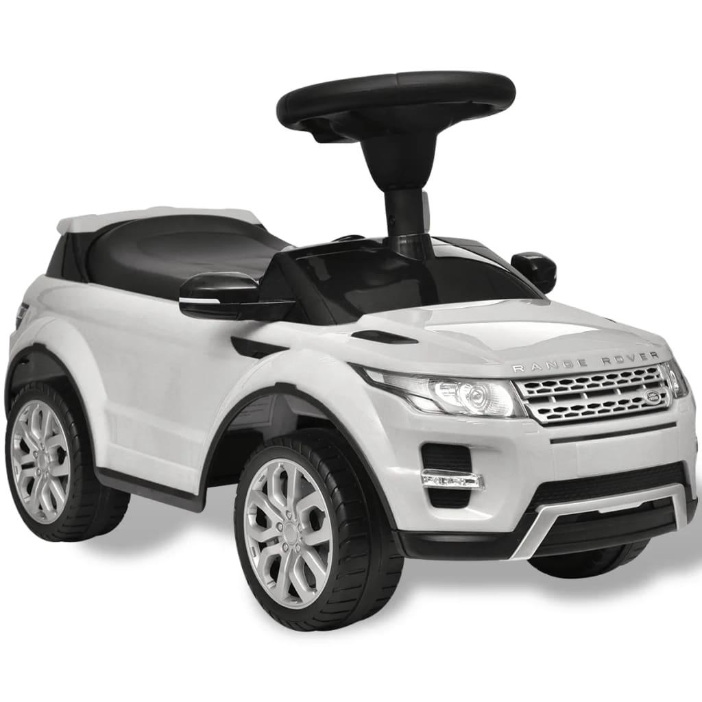 vidaXL Lad Rover 348 gyerek jármű zenével fehér