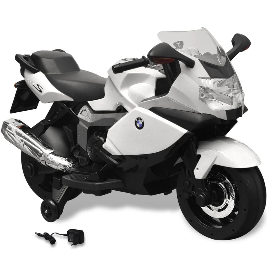 acheter moto lectrique bmw 283 blanc 6 v pour enfant pas cher. Black Bedroom Furniture Sets. Home Design Ideas