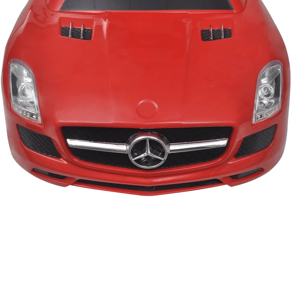 Ride on car mercedes benz sls amg red for Mercedes benz sls amg red