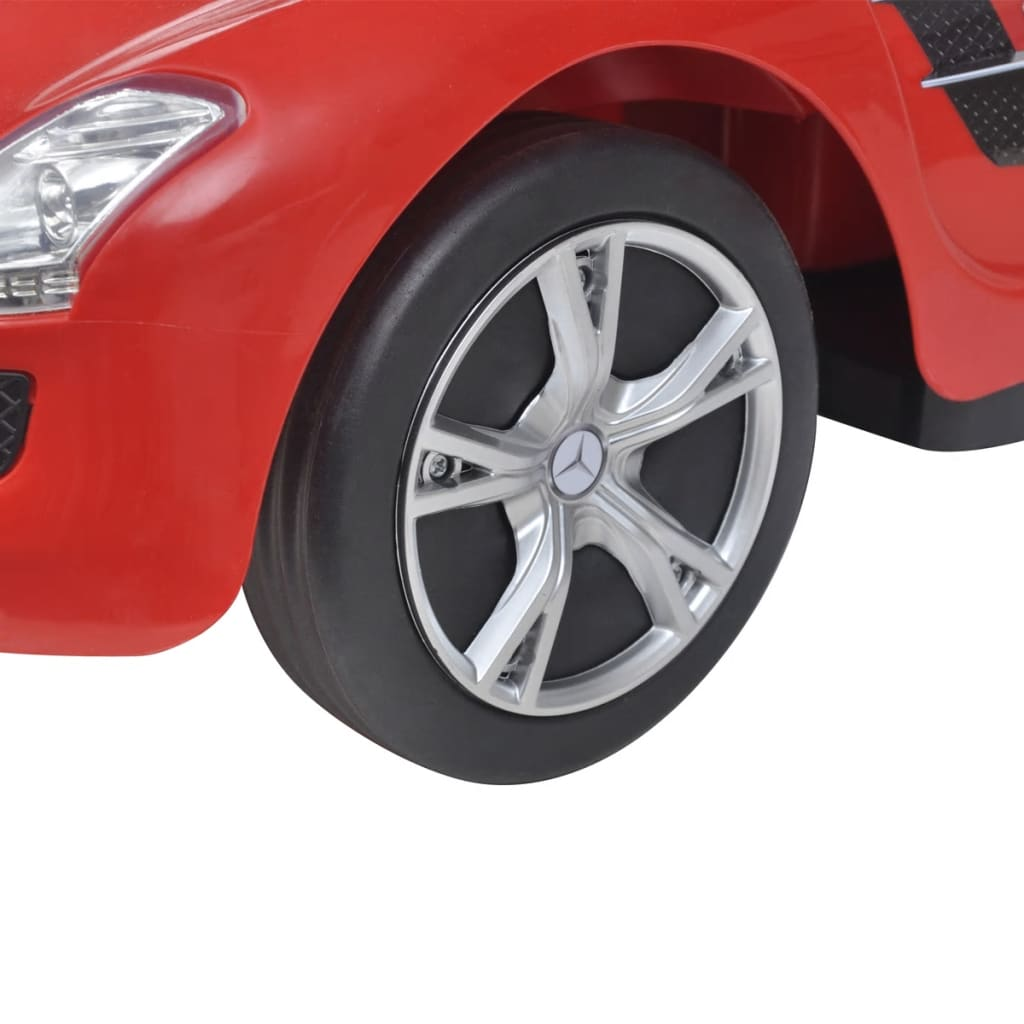 Ride on car mercedes benz sls amg red for Mercedes benz ride on car