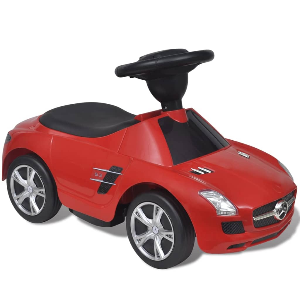 ride on car mercedes benz sls amg red. Black Bedroom Furniture Sets. Home Design Ideas