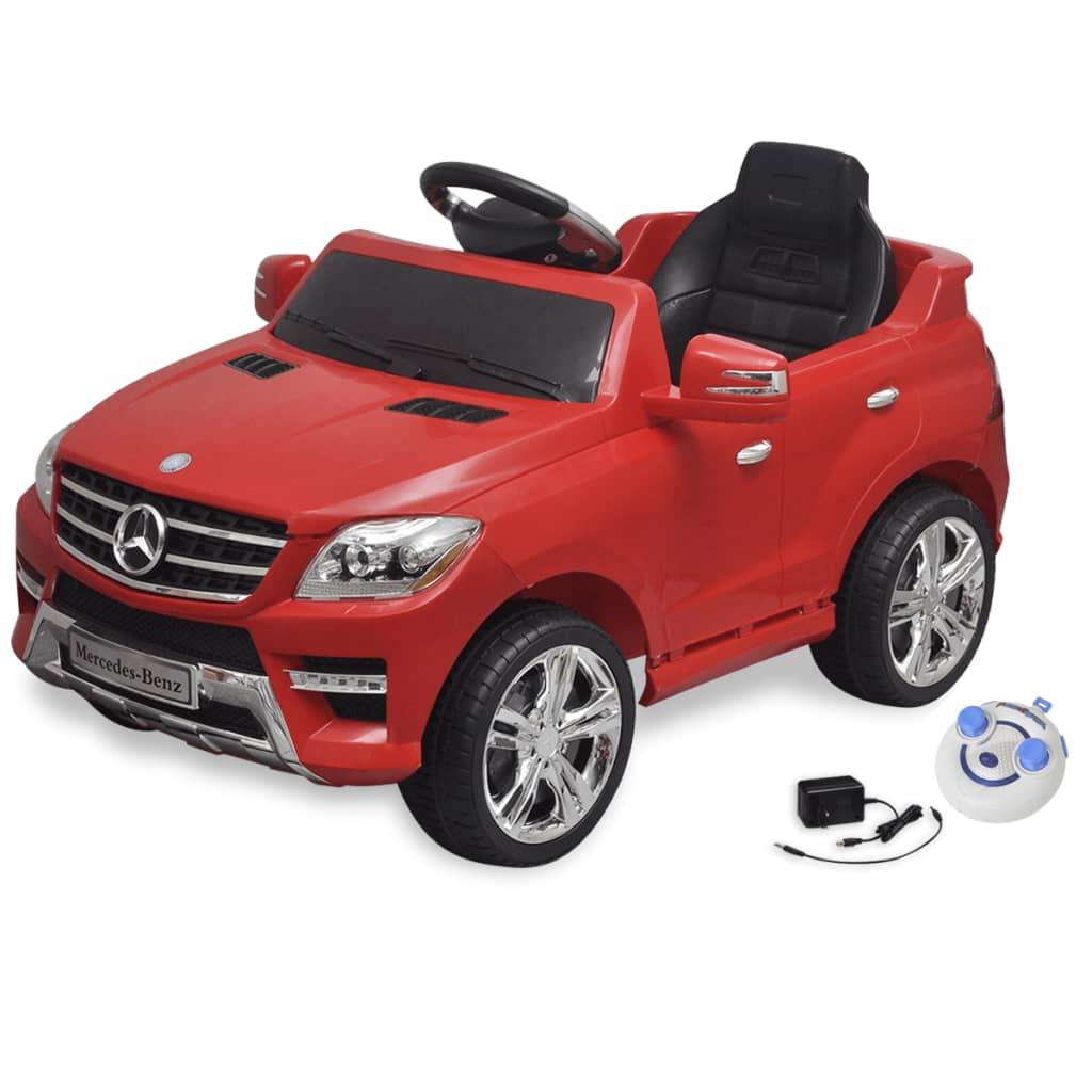 De elektrische auto mercedes benz ml350 rood 6 v met for Mercedes benz car shop