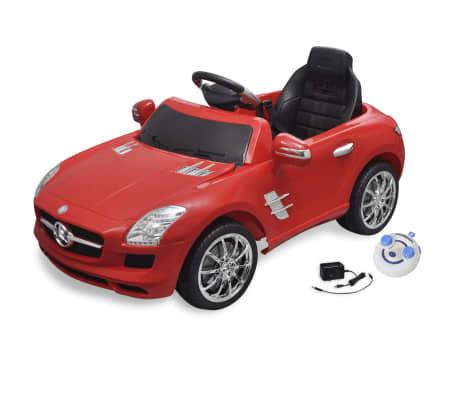acheter voiture lectrique 6 v avec t l commande mercedes benz sls amg rouge pas cher. Black Bedroom Furniture Sets. Home Design Ideas