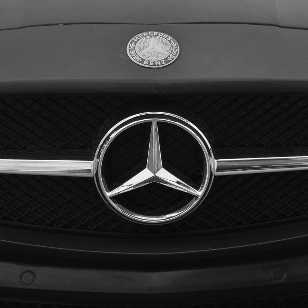 elektroauto ride on mercedes benz sls amg schwarz 6v mit. Black Bedroom Furniture Sets. Home Design Ideas
