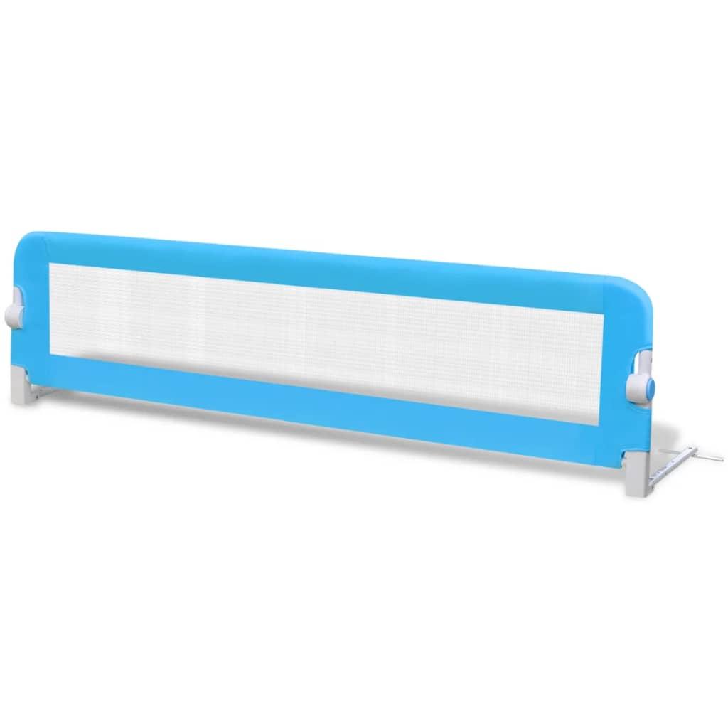 Afbeelding van vidaXL Bedhekje peuter 150x42 cm blauw