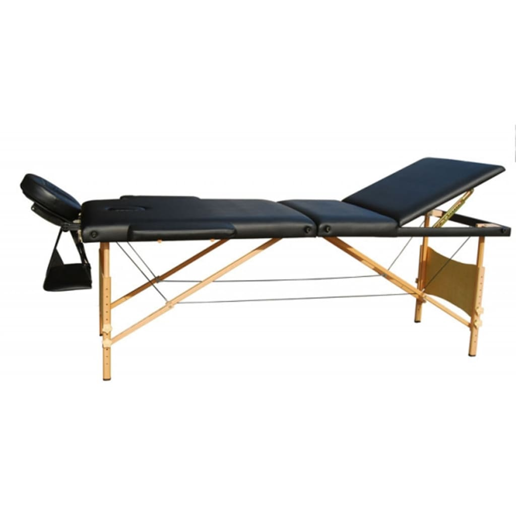 La boutique en ligne table de massage pliante bois 3 zones - Tables de massage pliante ...