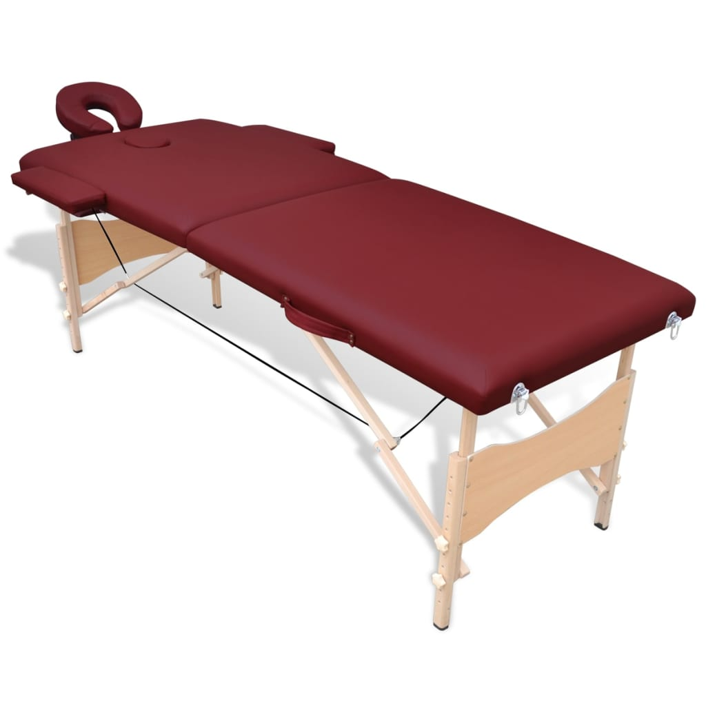 La boutique en ligne table de massage pliante en bois 2 - Tables de massage pliante ...