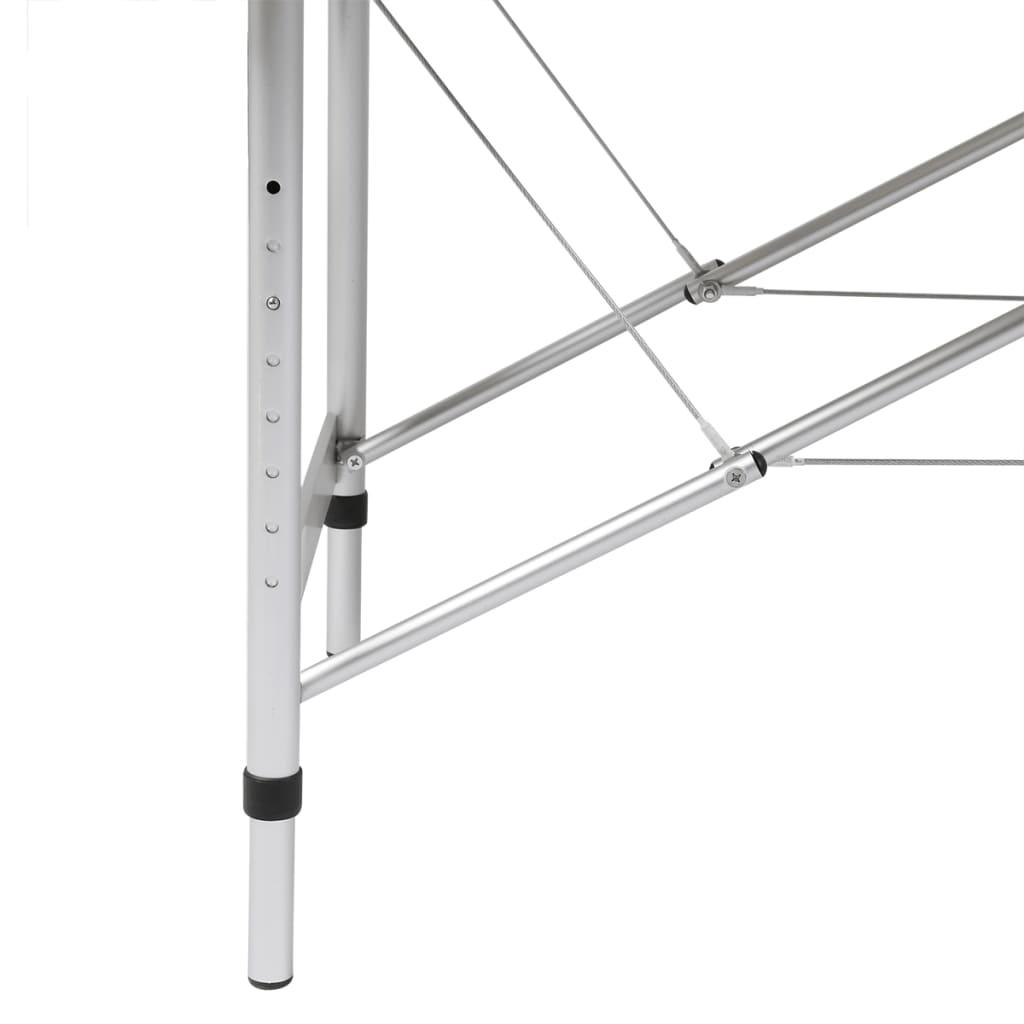 Mesa camilla de masaje de aluminio plegable de cuatro - Vestir mesa camilla ...