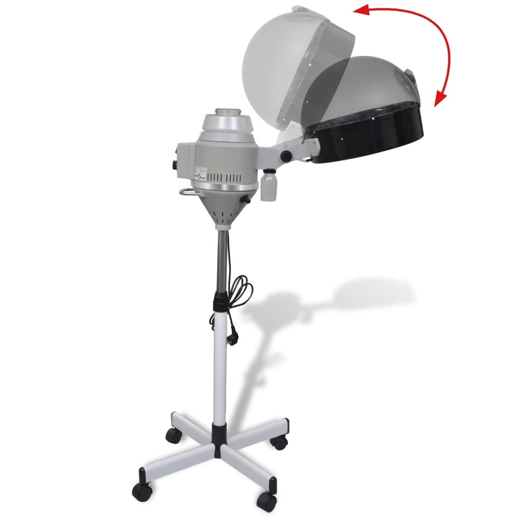 acheter casque vapeur avec base roulante pour salon de coiffure pas cher. Black Bedroom Furniture Sets. Home Design Ideas