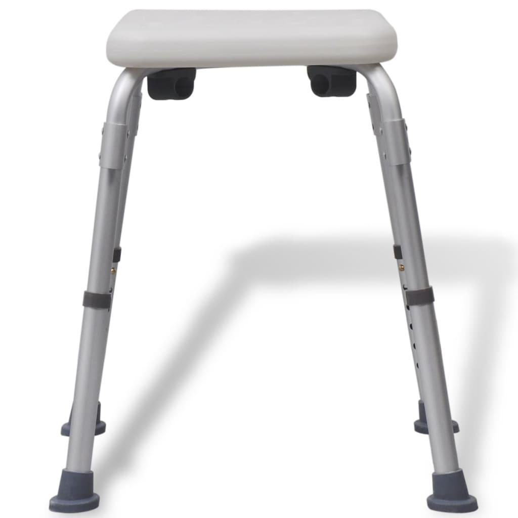 Acheter vidaxl chaise de douche aluminium blanc pas cher - Siege de douche pas cher ...