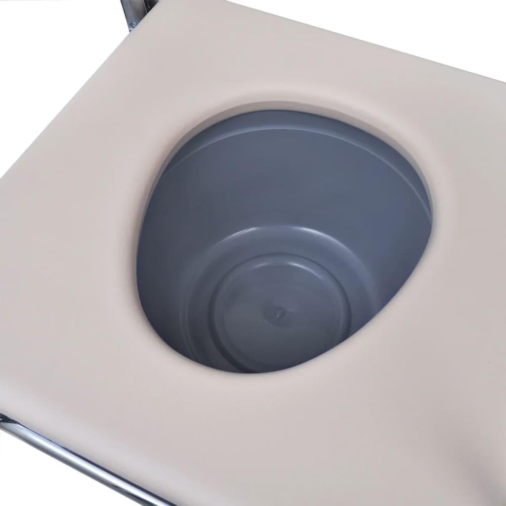 Articoli per vidaxl sedia da toilette comoda da bagno in - Toilette da bagno ...