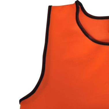 Orange Sportsshirts Sportweste für Kinder 10 Stück[4/4]