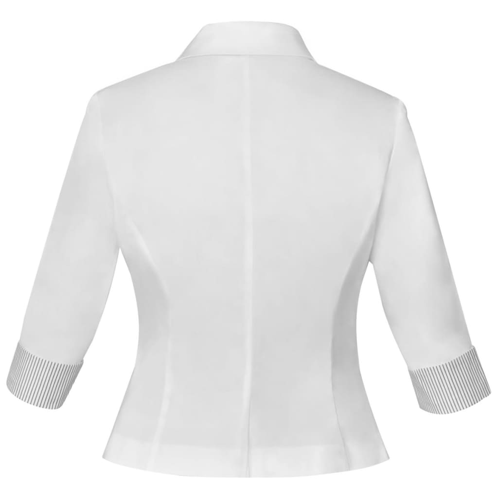 To size Men's Blazers - measure around body and arms at chest; deduct 7
