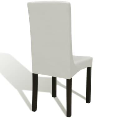 La boutique en ligne 6 housses de chaise dos droit for Chaise dos droit
