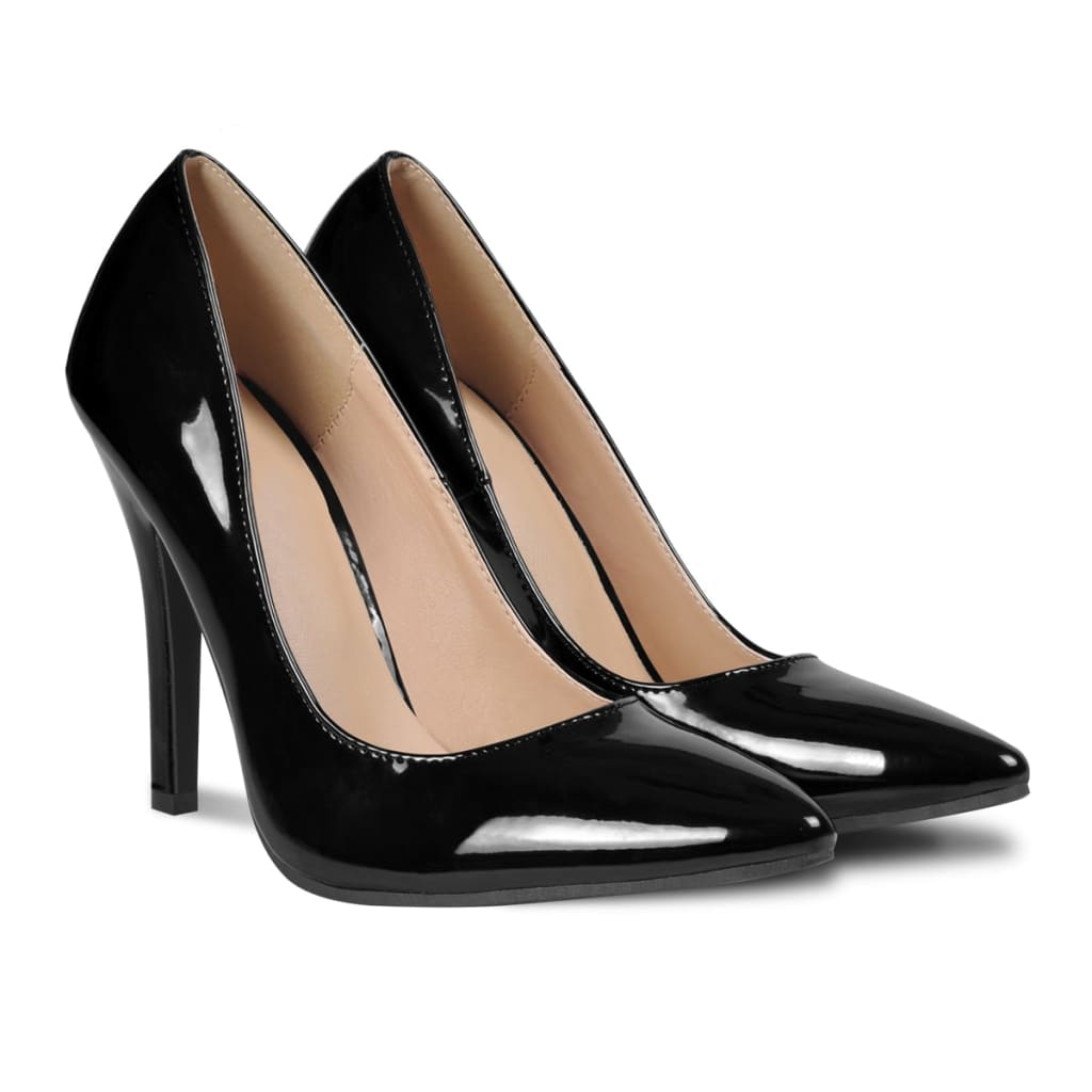 modern damen pumps lackleder party hochzeit damenschuhe high heels stiletto ebay. Black Bedroom Furniture Sets. Home Design Ideas
