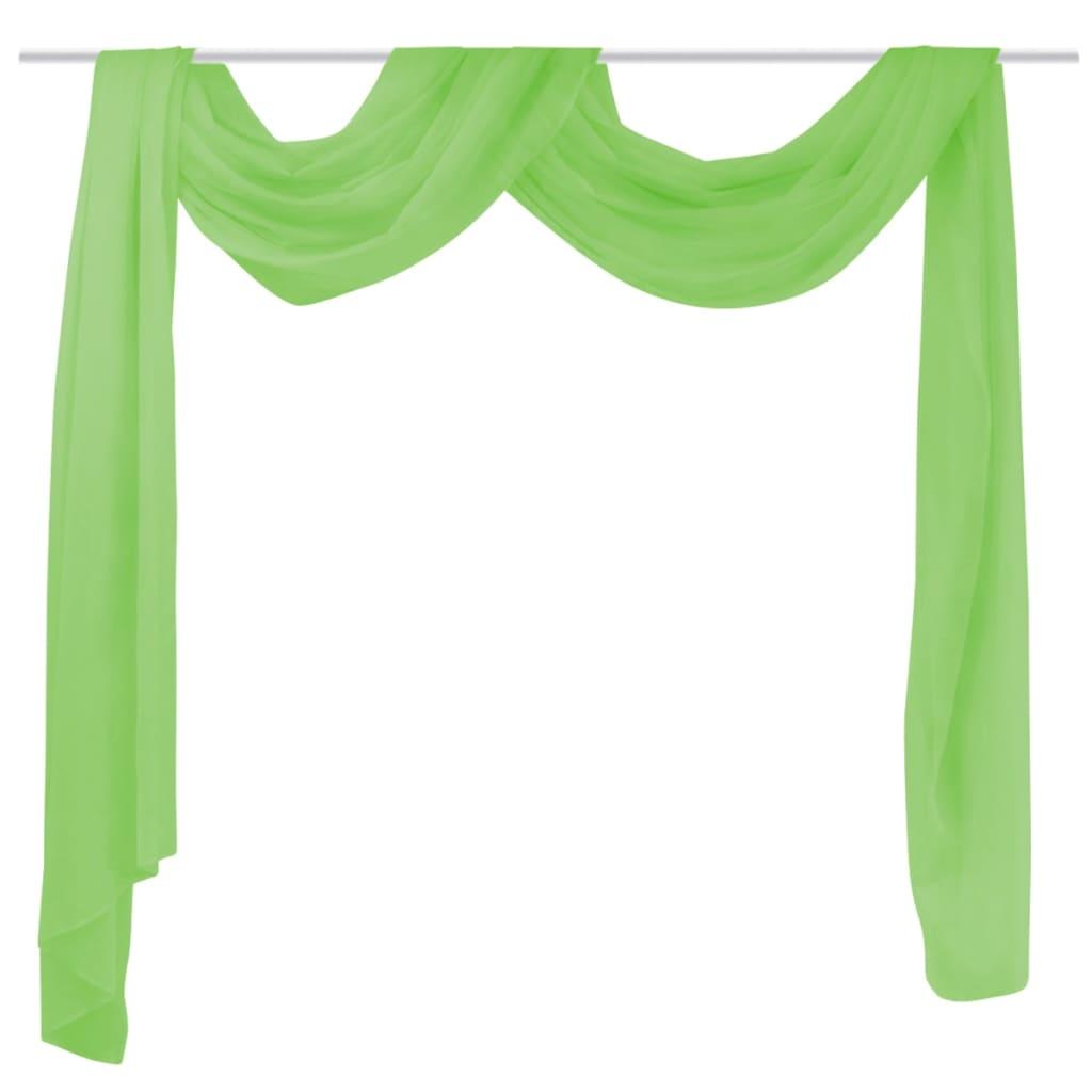 Rideau voilage Voile de mariage Turquoise Vert Cr¨me Blanc Lavage