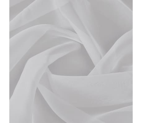 Voile Fabric 1.45 x 20 m White