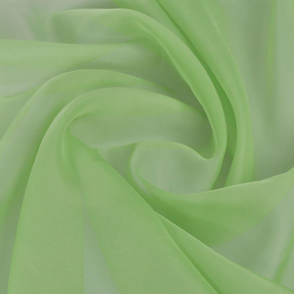 vidaXL Fátyol szövet 1,45 x 20 m zöld