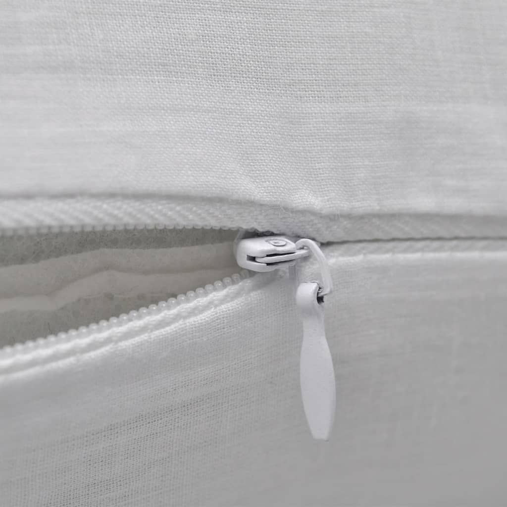 Free Shipping 40 40cm Chair Pad Cushion Pearl Cotton: 4 White Cushion Covers Cotton 80 X 80 Cm