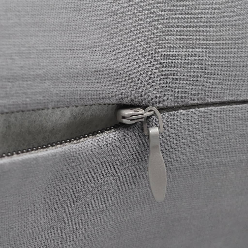 Free Shipping 40 40cm Chair Pad Cushion Pearl Cotton: 4 Grey Cushion Covers Cotton 50 X 50 Cm