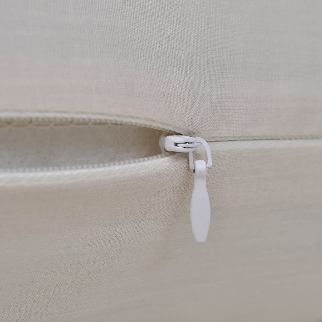 Free Shipping 40 40cm Chair Pad Cushion Pearl Cotton: 4 Beige Cushion Covers Cotton 40 X 40 Cm