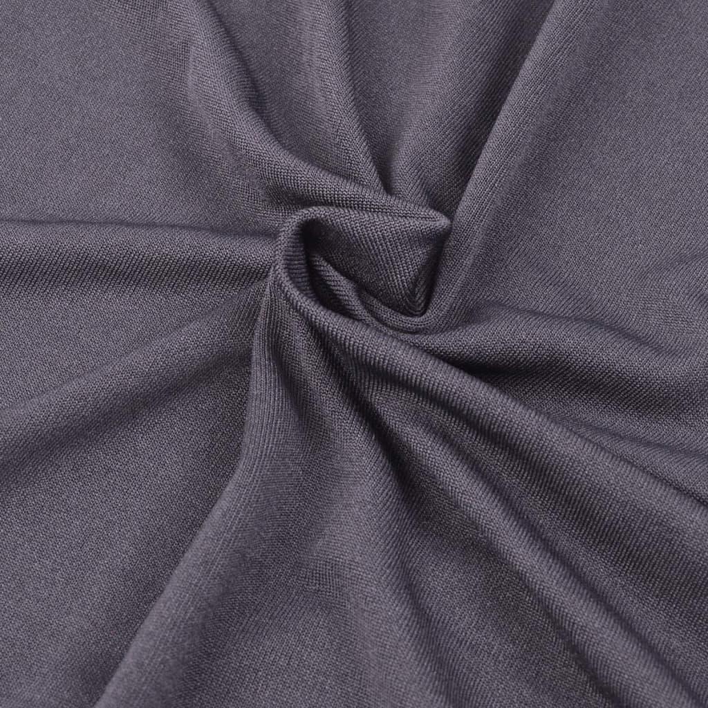 la boutique en ligne vidaxl housse de canap en polyester jersey extensible anthracite. Black Bedroom Furniture Sets. Home Design Ideas
