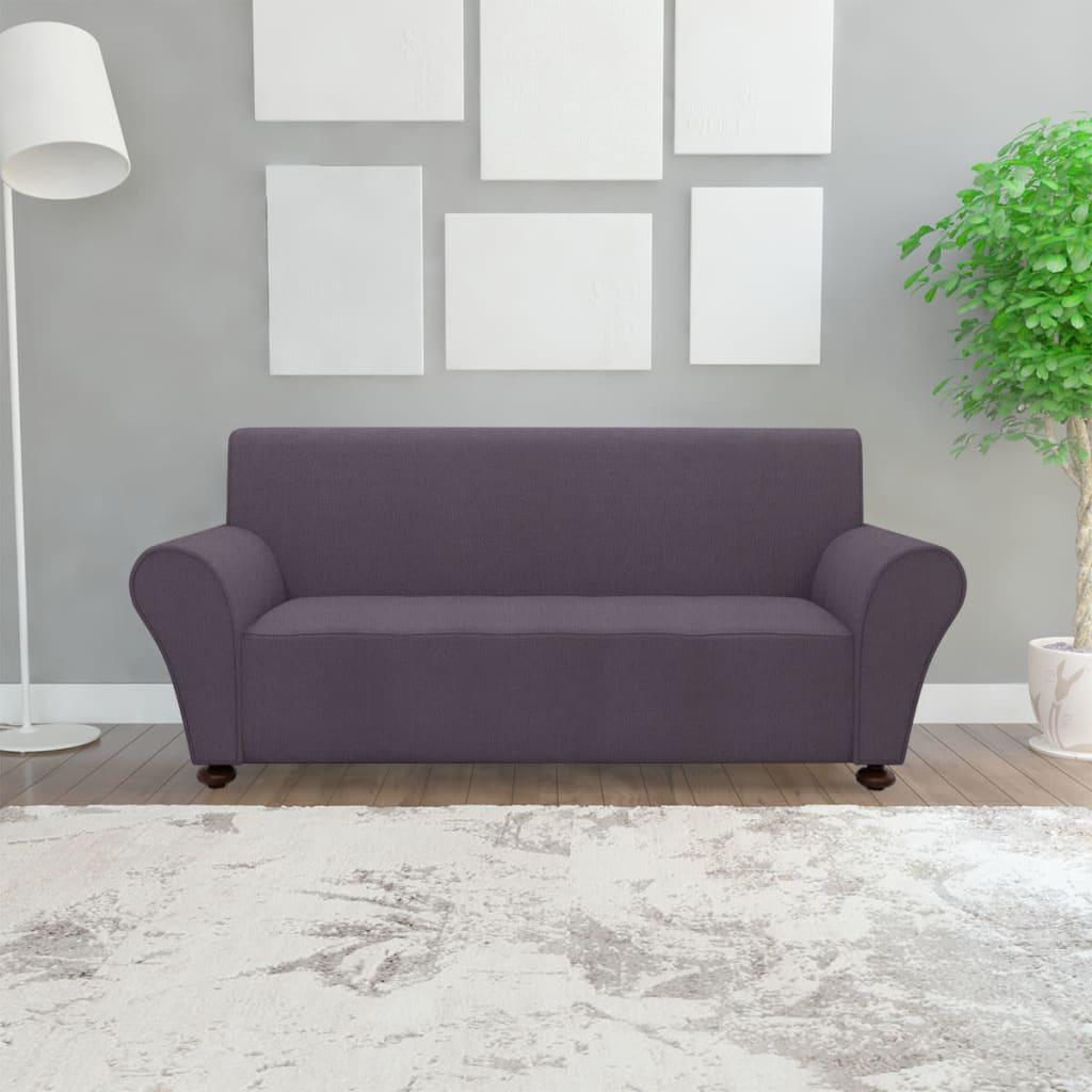 vidaXL rugalmas poliészter jersey kanapé huzat antracit szín