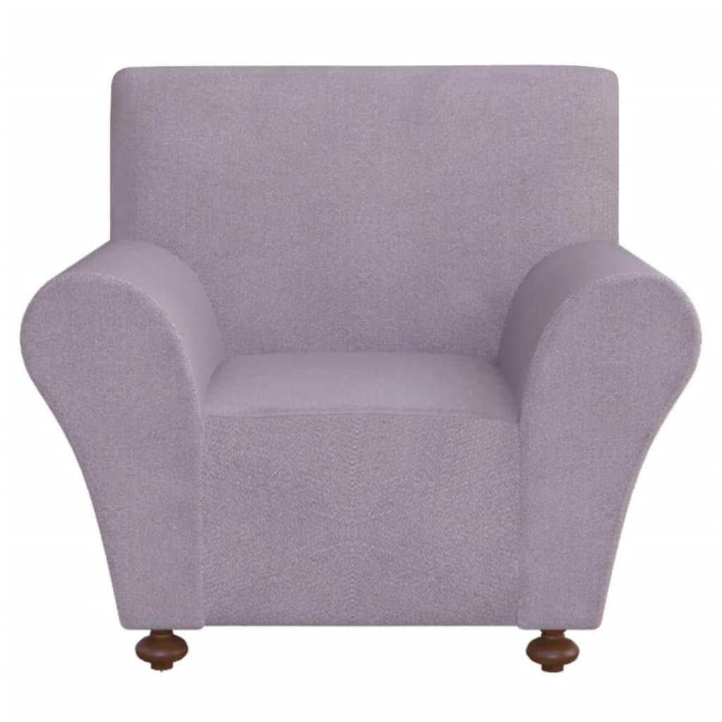 Vidaxl funda el stica para sof de tela jersey de for Fundas de sofa gris