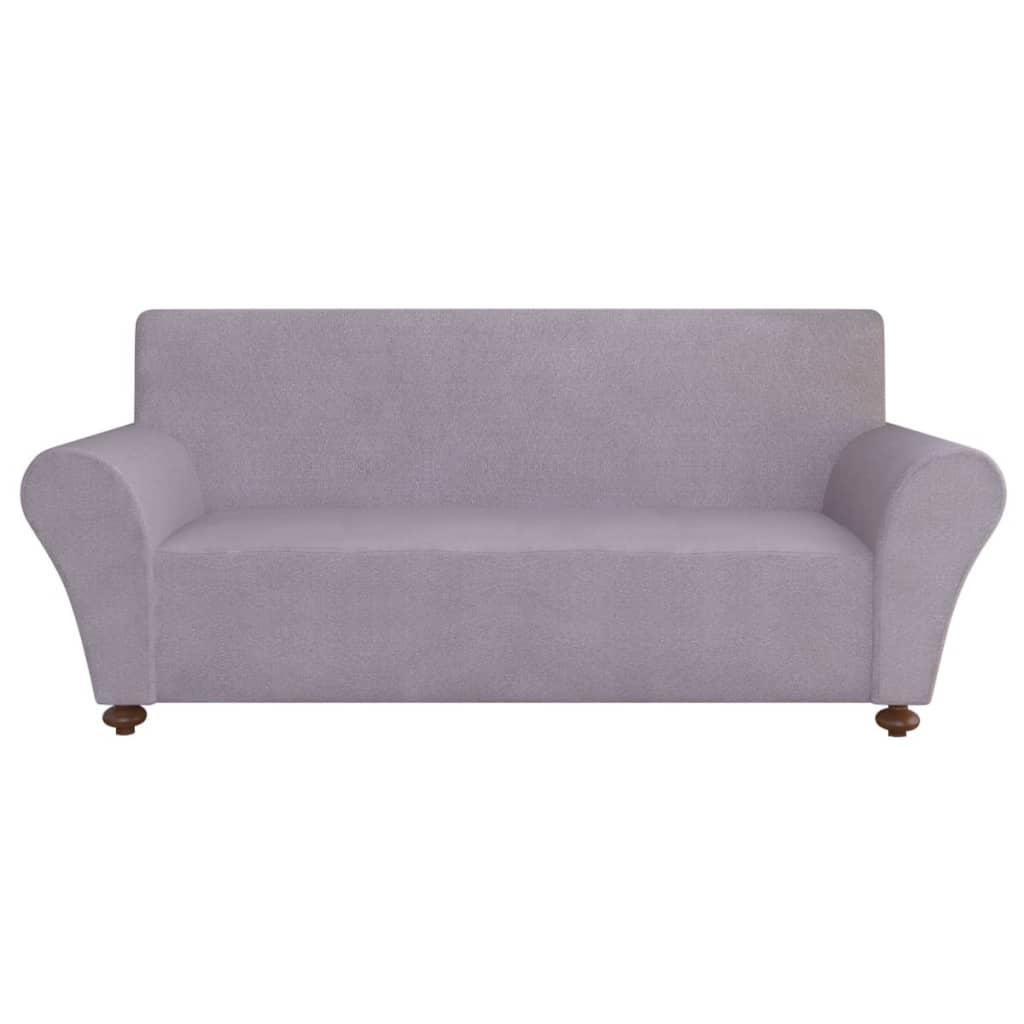 vidaxl sofahusse sofabezug stretchhusse grau polyester jersey g nstig kaufen