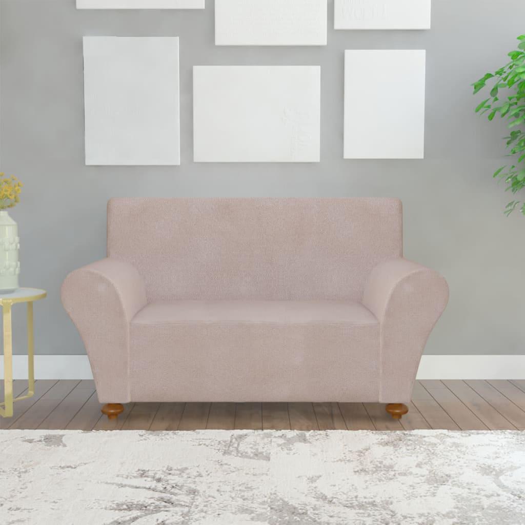 Acheter vidaxl housse de canap en polyester jersey for Housse extensible de canape