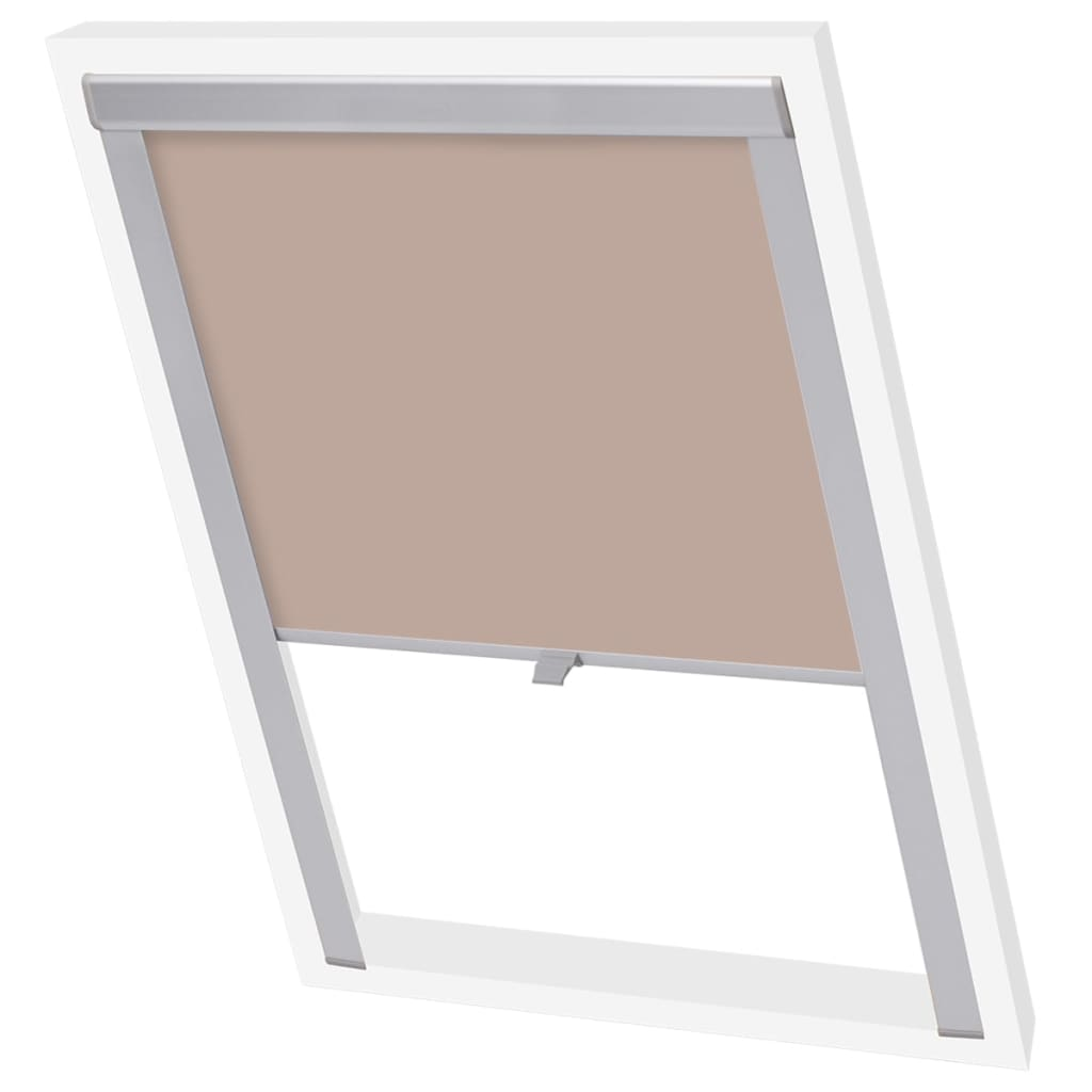 store enrouleur occultant beige gris blanc noir rideau rouleau de fen tre velux ebay. Black Bedroom Furniture Sets. Home Design Ideas