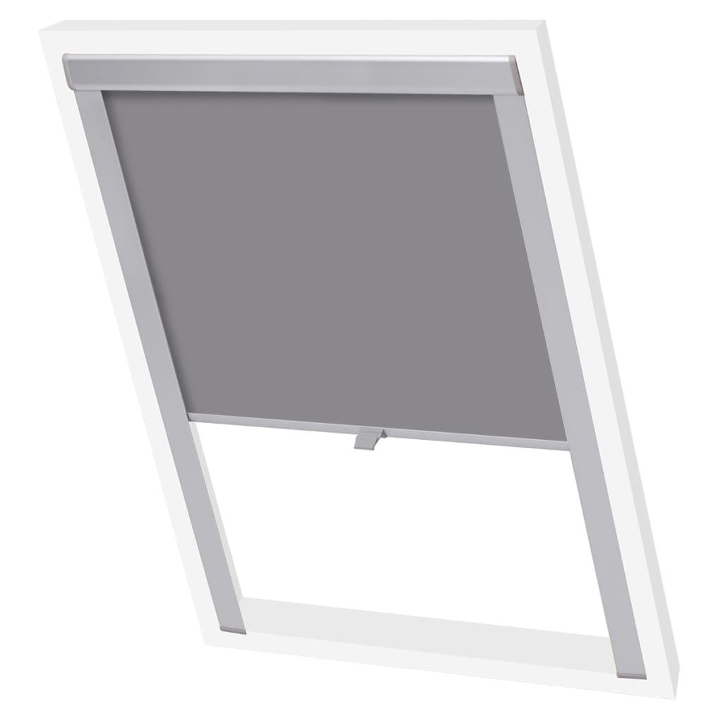acheter vidaxl store enrouleur occultant gris 104 pas cher. Black Bedroom Furniture Sets. Home Design Ideas