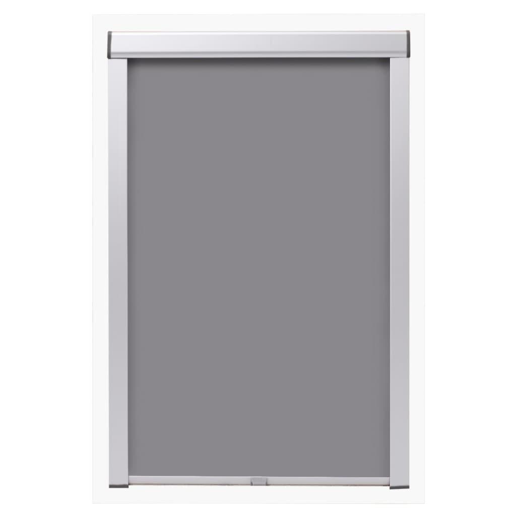 acheter vidaxl store enrouleur occultant gris p06 406 pas cher. Black Bedroom Furniture Sets. Home Design Ideas