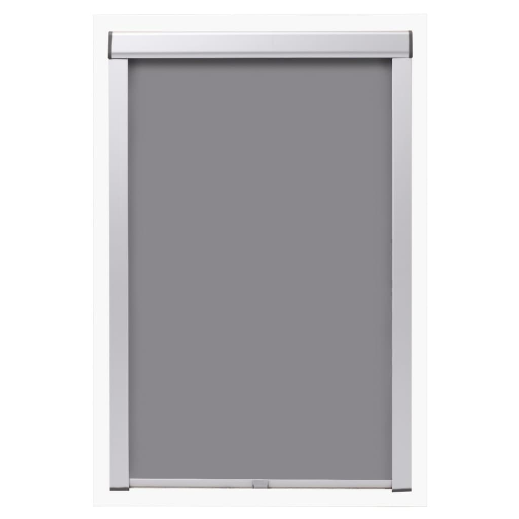 Acheter vidaxl store enrouleur occultant gris u08 808 pas for Store jardin gris
