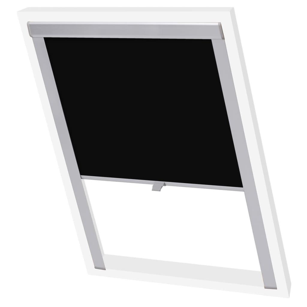acheter vidaxl store enrouleur occultant noir c02 pas cher. Black Bedroom Furniture Sets. Home Design Ideas