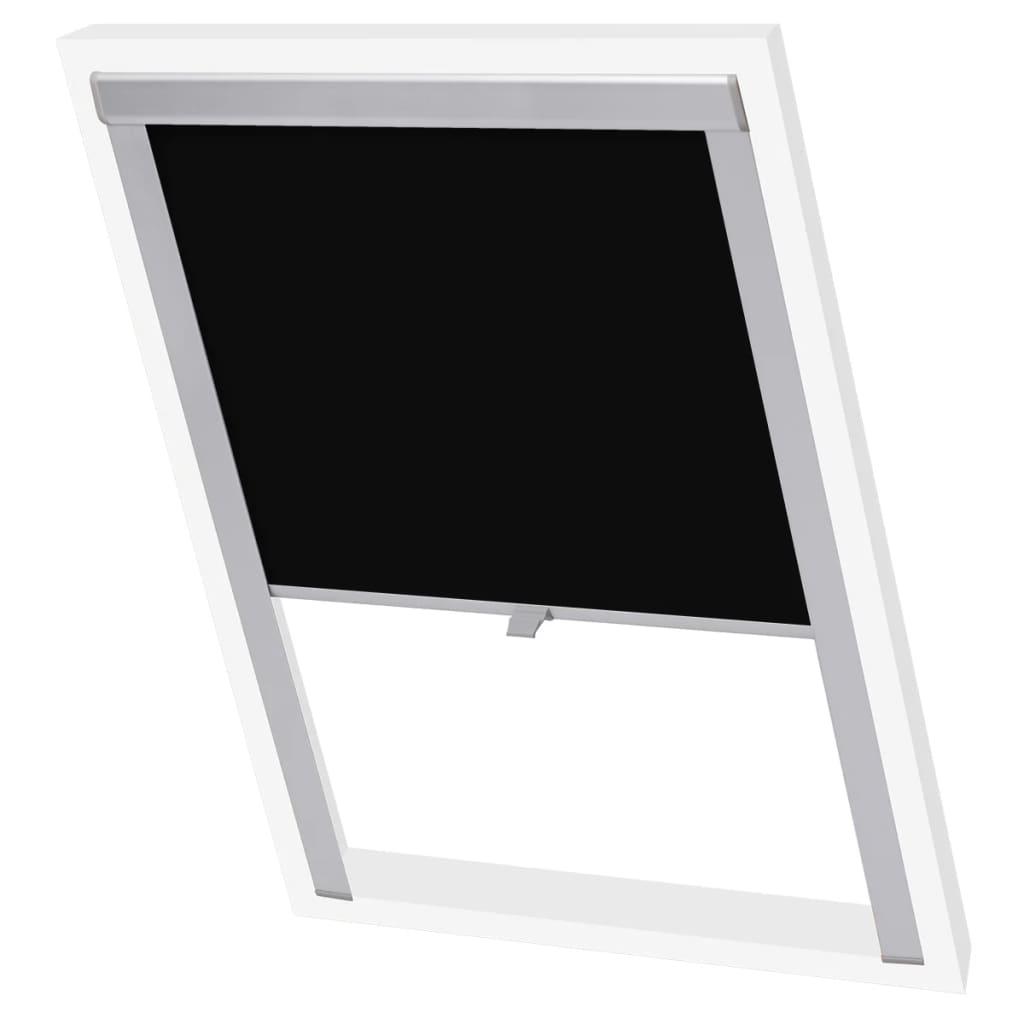 acheter vidaxl store enrouleur occultant noir f06 pas cher. Black Bedroom Furniture Sets. Home Design Ideas