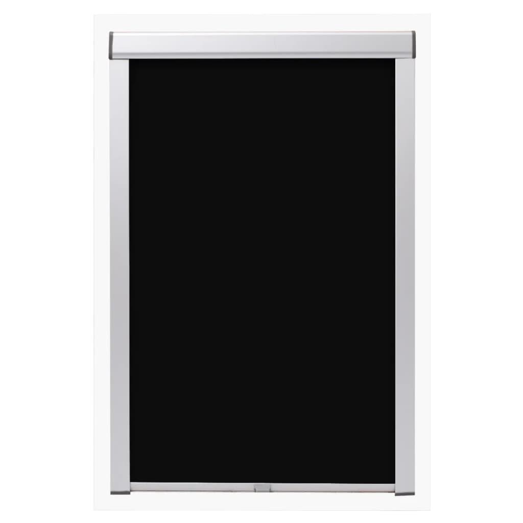 acheter vidaxl store enrouleur occultant noir s06 606 pas cher. Black Bedroom Furniture Sets. Home Design Ideas