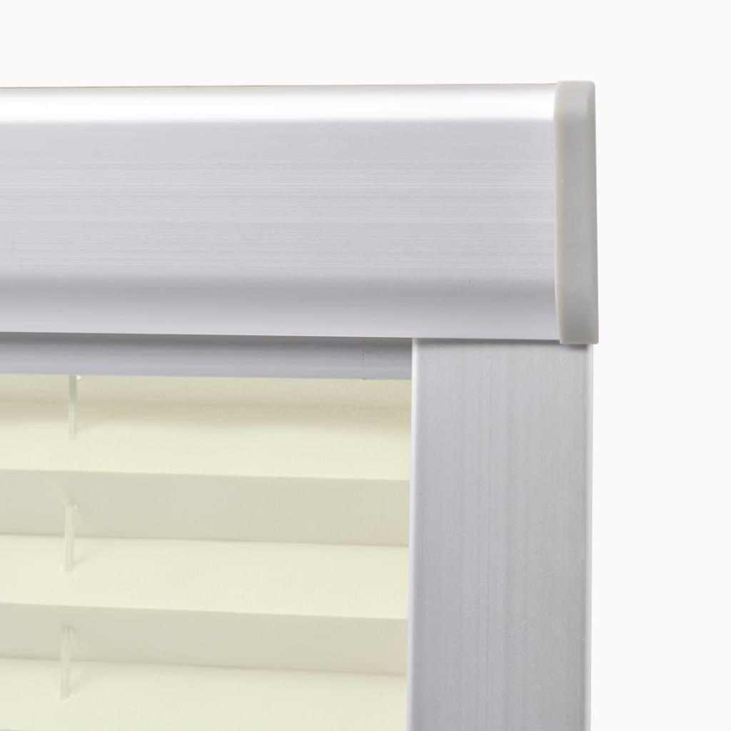 vidaxl plissee faltstore cremefarben s06 606 g nstig kaufen. Black Bedroom Furniture Sets. Home Design Ideas