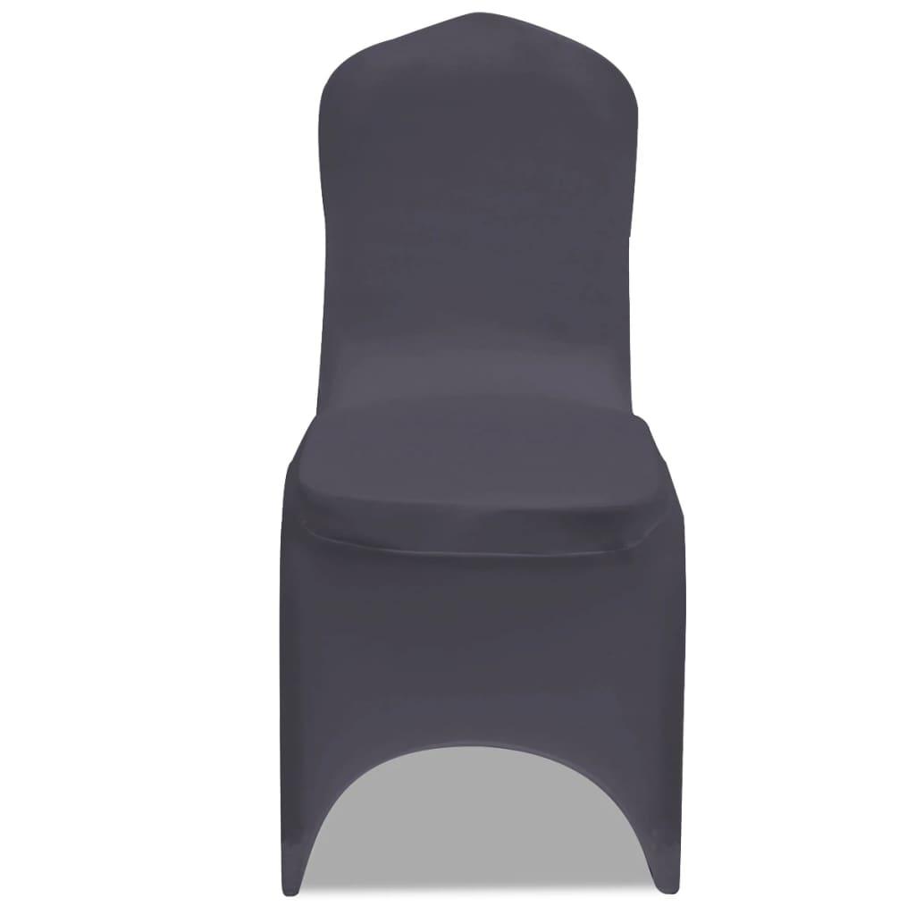 Acheter vidaxl housse de chaise extensible 6 pcs for Housse de chaise extensible