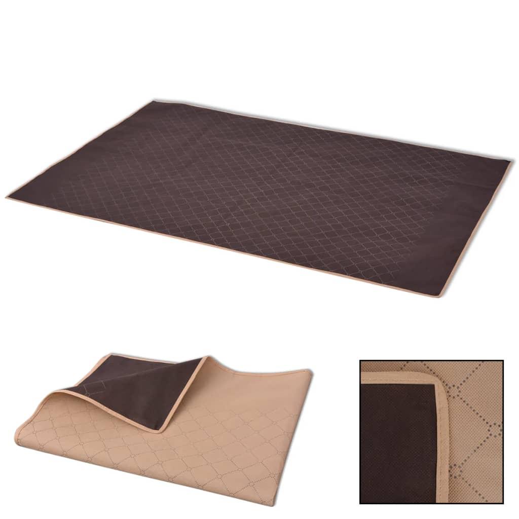 vidaXL piknik takaró 150x200 cm bézs és barna