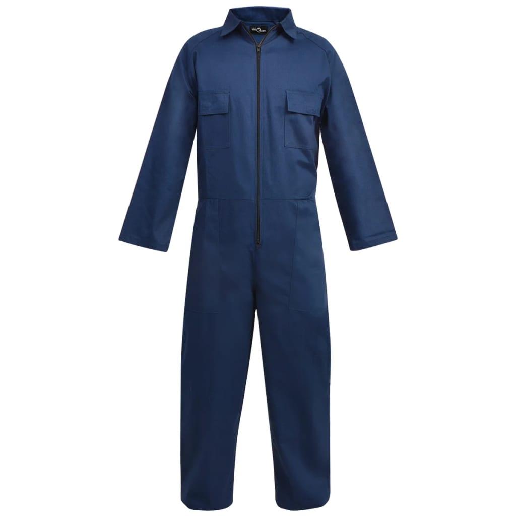 Afbeelding van vidaXL Mannen overall maat M blauw