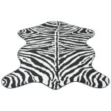 vidaXL Teppich Zebra-Druck 70 x 110 cm