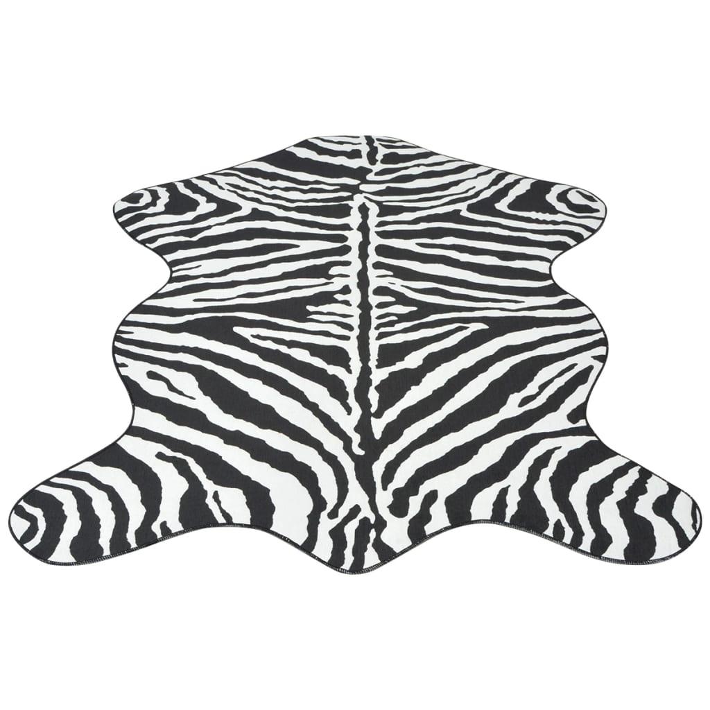 vidaXL Szőnyeg 110x150 cm zebra mintázattal